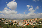 Israel, Lower Galilee, a view of Arabe from road 7955