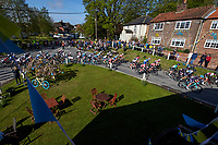 Picture by SWpix.com - 03/05/2018 - Cycling - 2018 Asda Women's Tour de Yorkshire - Stage 1: Beverley to Doncaster - The peloton passes through Little Weighton