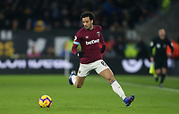 West Ham United's Felipe Anderson<br /> <br /> Photographer Rob Newell/CameraSport<br /> <br /> The Premier League - Wolverhampton Wanderers v West Ham United - Tuesday 29th January 2019 - Molineux - Wolverhampton<br /> <br /> World Copyright © 2019 CameraSport. All rights reserved. 43 Linden Ave. Countesthorpe. Leicester. England. LE8 5PG - Tel: +44 (0) 116 277 4147 - admin@camerasport.com - www.camerasport.com