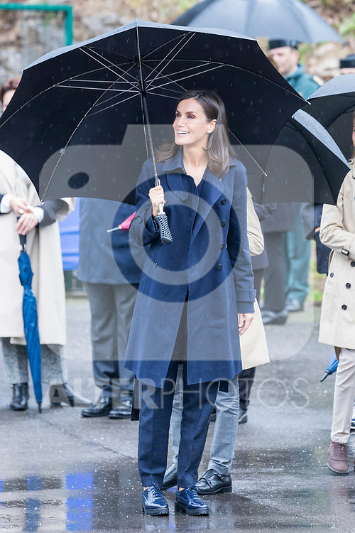 Queen Letizia of Spain and Infant Sofia (r)  during the visit to Asiego, the village who won the 'Exemplary Village Award' 2019. October 19, 2019 (Alterphotos/ Francis Gonzalez)