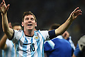 Lionel Messi (ARG),<br /> JULY 9, 2014 - Football / Soccer : FIFA World Cup 2014 semi-finals match between Netherlands and Argentina at Arena de Sao Paulo in Sao Paulo Brazil.<br /> (Photo by FAR EAST PRESS/AFLO)