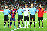 02.09.2012 SPAIN -  La Liga 12/13 Matchday 3th  match played between F.C. Barcelona vs Valencia C.F. (1-0) at Nou Camp stadium. The picture show