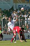 Sandhausen 10.05.2008, Mario G&ouml;ttlicher (SV Sandhausen)  und Vitus Nagorny (FC Bayern M&uuml;nchen II) in der Regionalliga beim Spiel SV Sandhausen - FC Bayern M&uuml;nchen II<br /> <br /> Foto &copy; Rhein-Neckar-Picture *** Foto ist honorarpflichtig! *** Auf Anfrage in h&ouml;herer Qualit&auml;t/Aufl&ouml;sung. Belegexemplar erbeten.