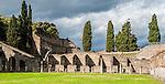 The ancient city of Pompeii, Italy