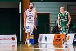 S&ouml;dert&auml;lje 2014-03-25 Basket SM-kvartsfinal 1 S&ouml;dert&auml;lje Kings - J&auml;mtland Basket :  <br /> J&auml;mtlands Andreas Karlsson jublar efter att ha gjort po&auml;ng i matchen<br /> (Foto: Kenta J&ouml;nsson) Nyckelord:  S&ouml;dert&auml;lje Kings SBBK J&auml;mtland Basket SM Kvartsfinal Kvart T&auml;ljehallen jubel gl&auml;dje lycka glad happy