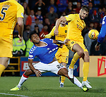 25.09.2018 Livingston v Rangers: Alfredo Morelos and Jon Guthrie