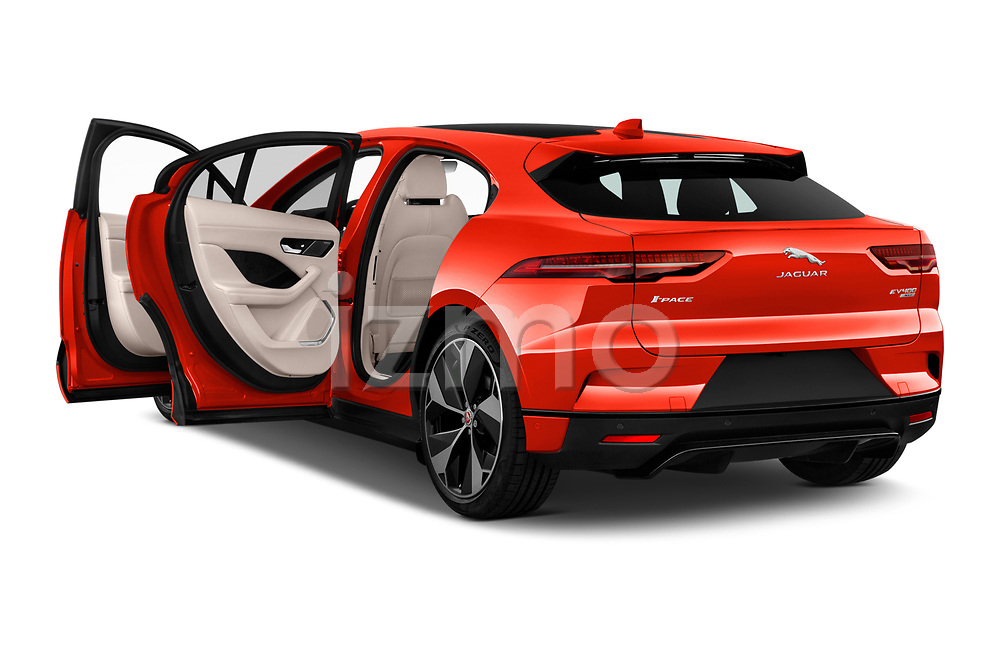 Car images close up view of a 2019 Jaguar I Pace HSE 5 Door Hatchback doors