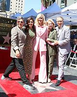LOS ANGELES - SEP 12:  Jill Soloway, America Ferrera, Judith Light, Daryl Roth, Bernard Telsey at the Judith Light Star Ceremony on the Hollywood Walk of Fame on September 12, 2019 in Los Angeles, CA