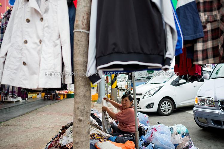 9/10/13 -- Wando Island, Jeonnam Province (Jeollanam-do), South Korea<br /> <br /> Wando Island's five-day market.<br /> <br /> Photograph by Stuart Isett<br /> &copy;2013 Stuart Isett. All rights reserved.