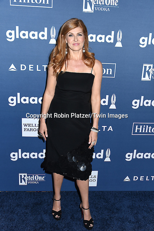Connie Britton attends the 27th Annual GLAAD Media Awards on May 14, 2016 at the Waldorf Astoria Hotel in New York City, New York, USA.<br /> <br /> photo by Robin Platzer/Twin Images<br />  <br /> phone number 212-935-0770