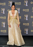 LOS ANGELES, CA. March 30, 2019: Malinda Williams at the 50th NAACP Image Awards.<br /> Picture: Paul Smith/Featureflash