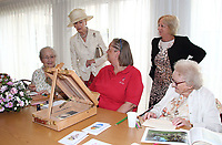 JUL 27 HRH Princess Alexandra visit to Oak Way House