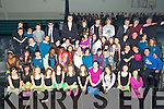 "Students from Mercy Mounthawk who put on their christmas concert the ""M FActor blast from the past"" on Thursday."