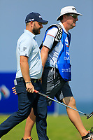 Andy Sullivan (ENG) during the first round of the NBO Open played at Al Mouj Golf, Muscat, Sultanate of Oman. <br /> 15/02/2018.<br /> Picture: Golffile   Phil Inglis<br /> <br /> <br /> All photo usage must carry mandatory copyright credit (&copy; Golffile   Phil Inglis)
