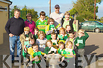SUN: The sun shone on Dromerin NS Listowel as Tadgh Kennelly of the victorious Kerry Team brought the Sam maguire to the school on Wednesday...