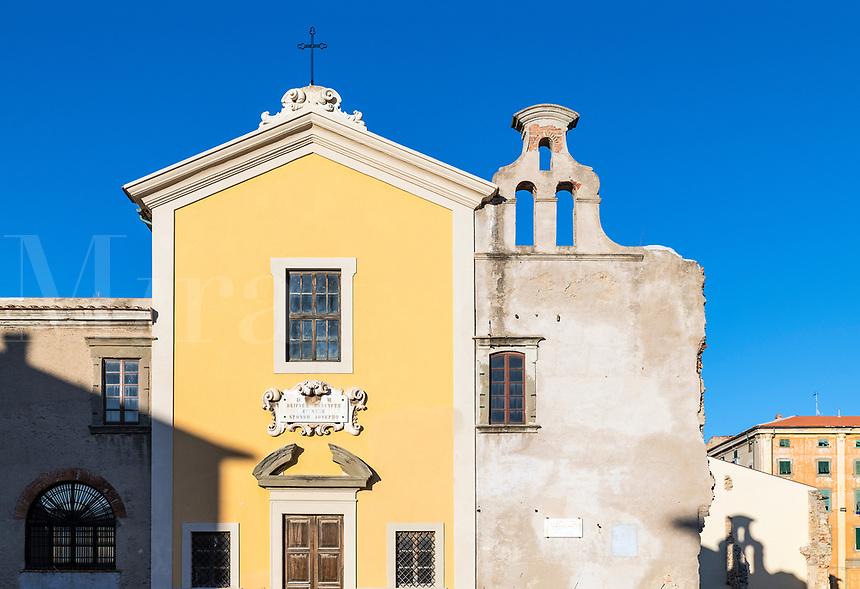 Luogo Pio Church XVIII, Livorno, Tuscany, Italy.