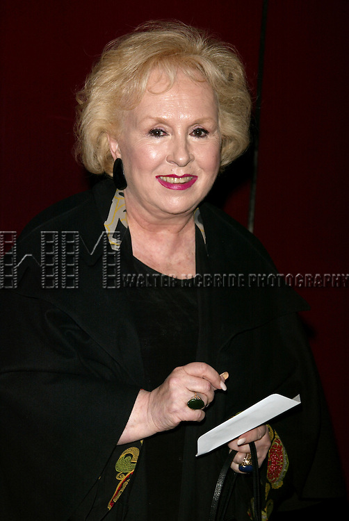 Doris Roberts Attending the Opening Night performance of FROZEN at the Circle in the Square Theatre in New York City.<br /> May 4, 2004