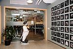 SANTA MONICA, CA. APRIL 12, 2017: A peek inside of the HULU company headquarters in Santa Monica, CA on Tuesday, April 12, 2017. CREDIT: Brinson+Banks