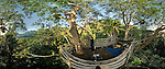 360-degree panoramic view from a treetop platform behind Masihulan village, north Seram. Take a spin inside this image at http://www.cahayafoto.com/download/MoritePano/index.html
