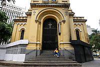 ATENCAO EDITOR FOTO EMBARGADA PARA VEICULO INTERNACIONAL - SAO PAULO, SP, 20/11/2012, DIA DA CONCIENCIA NEGRA- IGREJA FECHADA- Igreja de Nossa Senhora do Rosário dos Homens Pretos, Largo do Paissandu, s/n, centro de Sao Paulo. FOTO VAGNER CAMPOS/ BRAZIL PHOTO PRESS