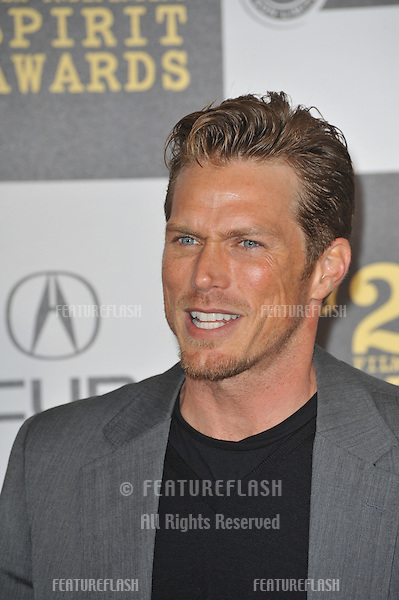 Jason Lewis at the 25th Anniversary Film Independent Spirit Awards at the L.A. Live Event Deck in downtown Los Angeles..March 5, 2010  Los Angeles, CA.Picture: Paul Smith / Featureflash