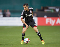 Washington, DC- May 2, 2015: D.C. United defeated Columbus Crew SC 2-0 during their Major League Soccer (MLS) match at the RFK Stadium.