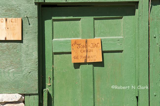 Miner's shack in El Paso Mountains, Mojave Desert, California