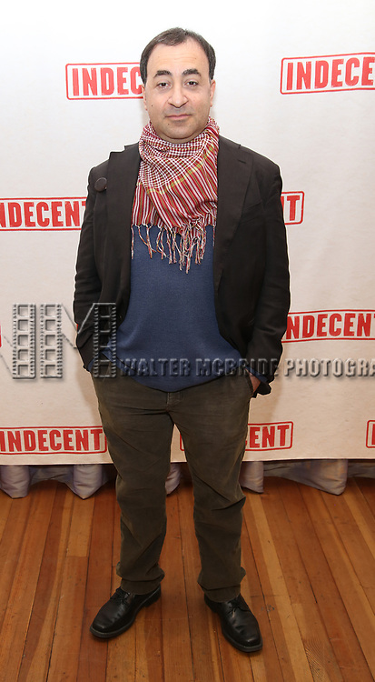 """Steven Rattazzi attends the """"Indecent"""" Media Day at Playwrights Horizons on March 13, 2017 in New York City."""