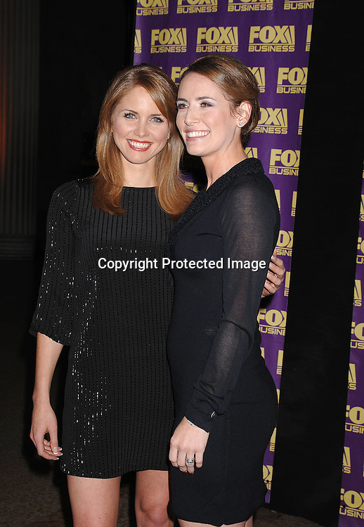 Jenna Lee and Alexis Glick..at The Fox Business Network's launch Party on October 24, 2007 at The Metropolitan Museum of Art . ..Robin Platzer, Twin Images..212-935-0770