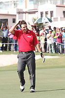Thomas Aiken wins on Day 4 of the 2013 Avantha Masters, Jaypee Greens Golf Club, Greater Noida, Delhi, 17/3/13..(Photo Jenny Matthews/www.golffile.ie)