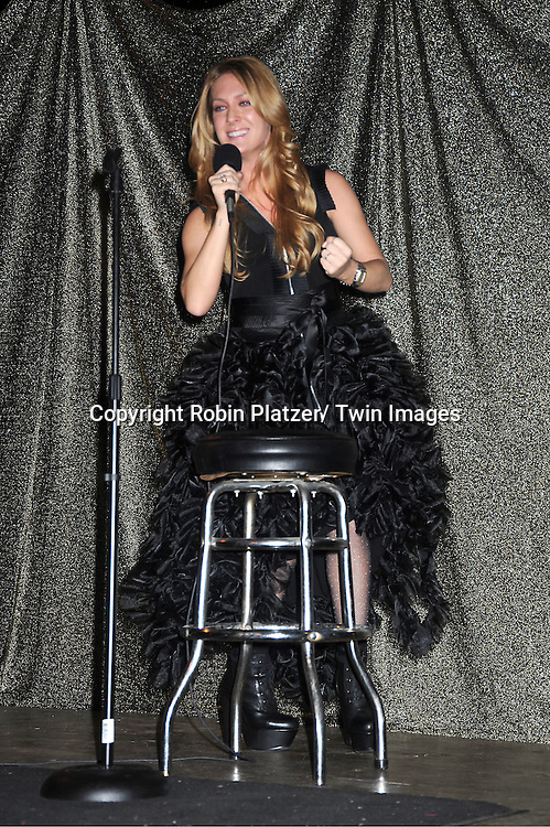 "BethAnn Bonner in Sohung Desing black puffy dress attends The ""Daytime Meets Nighttime"" hosted by .The Imperial Court of New York on November 4, 2011 at .The Jan Hus Theatre in New York City. The benefit was for The Jan Hus Theatre and Lifebeat."