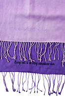 BNPS.co.uk (01202 558833)<br /> Pic: Juliens/BNPS<br /> <br /> Taylors scarfs from 'These Old Broads'.<br /> <br /> A spectacular collection of over 1,000 items charting Elizabeth Taylor's life including her iconic outfits are up for sale for over £1million. ($1.25million)<br /> <br /> Dozens of designer gowns, fur coats and capes are being auctioned by the trustees of the estate of the late English actress.<br /> <br /> Also going under the hammer are the Hollywood icon's stylish wigs, scarves, shoes and jewellery.<br /> <br /> Items of her lavish furniture from her luxury homes across the world, right down to her personalised salt and pepper shaker, are included.