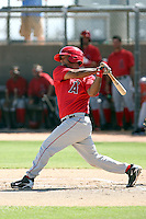 Carlos Ramirez - Los Angeles Angels - 2010 Instructional League.Photo by:  Bill Mitchell/Four Seam Images..