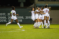STANFORD, CA - NOVEMBER 22: Stanford, CA - November 22, 2019: Catarina Macario, Maya Doms, Carly Malatskey, Kiki Pickett, Kennedy Wesley, Naomi Girma, Sam Hiatt at Laird Q. Cagan Stadium. The Stanford Cardinal defeated Hofstra 4-0 in the second round of the NCAA tournament. during a game between Hofstra and Stanford Soccer W at Laird Q. Cagan on November 22, 2019 in Stanford, California.