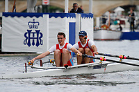 Race: 75 - Event: DOUBLES - Berks: 527 K. STEINH̃??BEL &amp; J. ROMMELMANN, GER - Bucks: 520 P. KING &amp; D.G. HARVEY<br /> <br /> Henley Royal Regatta 2017<br /> <br /> To purchase this photo, or to see pricing information for Prints and Downloads, click the blue 'Add to Cart' button at the top-right of the page.