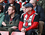 Sheffield Utd fans for fans feature during the championship match at the Bramall Lane Stadium, Sheffield. Picture date 14th April 2018. Picture credit should read: Simon Bellis/Sportimage