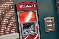 A Citizen Bank ATM is seen in Ann Arbor, Michigan Thursday June 6, 2013.