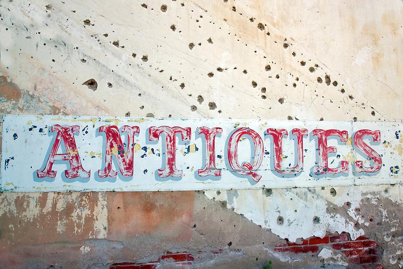 Antique sign.  Palouse, Washington.