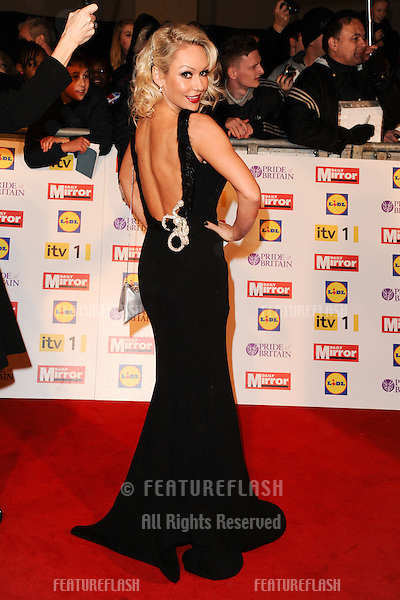 Kristina Rihanoff arriving for the 2012 Pride of Britain Awards, at the Grosvenor House Hotel, London. 29/10/2012 Picture by: Steve Vas / Featureflash