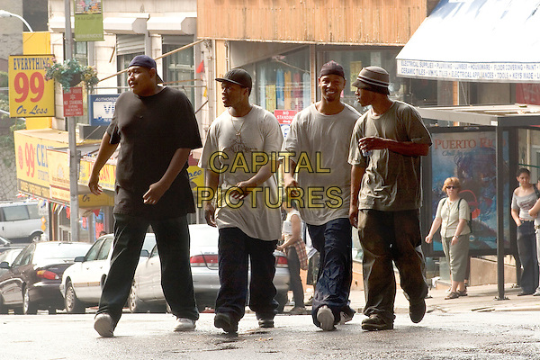 OMAR BENSON MILLER, CURTIS JACKSON (50 CENT), TORY KITTLES & ASHLEY WALTERS.in Get Rich or Die Tryin'.Filmstill - Editorial Use Only.CAP/AWFF.www.capitalpictures.com.sales@capitalpictures.com.Supplied By Capital Pictures.