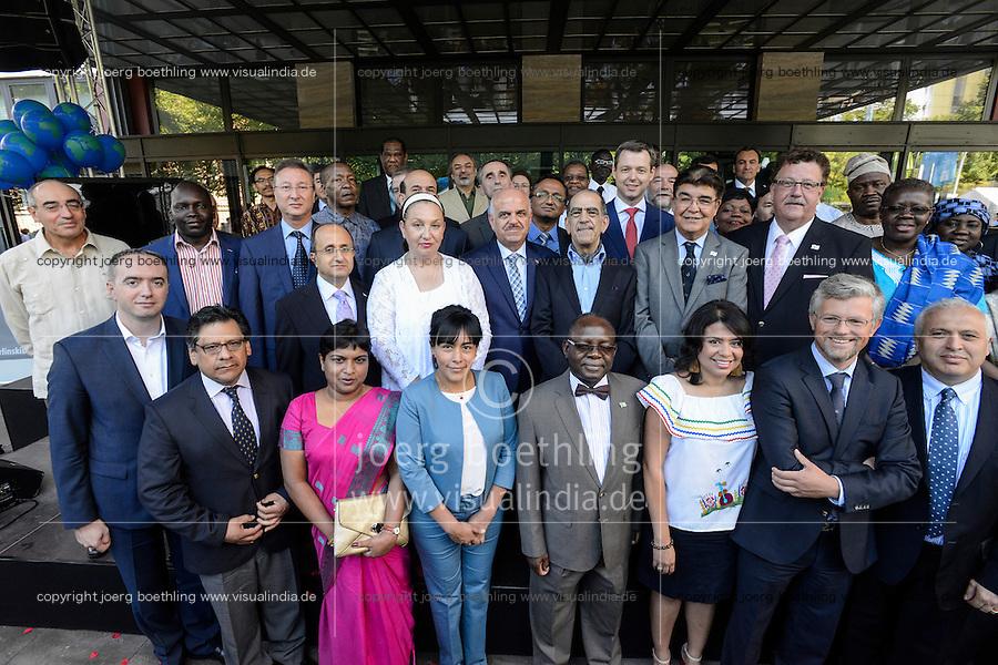 BMZ Tag der offenen Tür 2015, Hauptbühne, Begrüßung der Botschafter