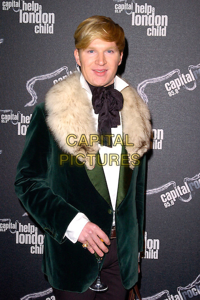 "GUEST.Attending ""Capital Rocks"" at Battersea Evolution, .London, England, December 11th 2007..half length fur coat collar black tie.CAP/CAN.©Can Nguyen/Capital Pictures"