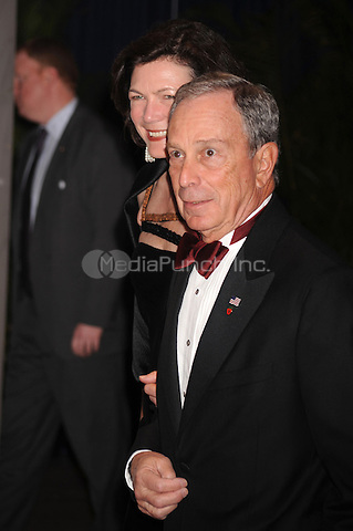 NY Mayor Michael Bloomberg arrives at the White House Correspondents' Association Dinner in Washington, DC. May 1, 2010. Credit: Dennis Van Tine/MediaPunch