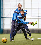 Kenny Miller and Alfredo Morelos