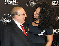 NEW YORK, NY - OCTOBER 19: (L-R) Clive Davis and Keep A Child Alive co-founder and singer Alicia Keys attend Keep A Child Alive's Black Ball 2016 at Hammerstein Ballroom on October 19, 2016 in New York City. Photo by John Palmer/MediaPunch