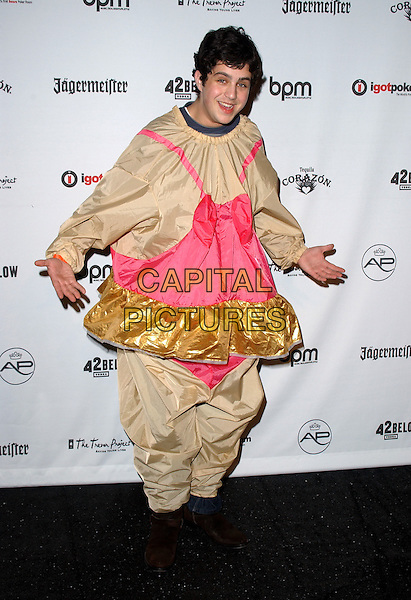 JOSH PECK.The Hollywood Halloween Bash to Benefit The Trevor Project held at Henson Studio in Hollywood, California  .October 30th, 2005.Ref: DVS.full length costume .www.capitalpictures.com.sales@capitalpictures.com.Supplied By Capital PIctures