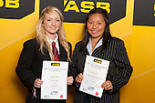 Girls Lawn Bowls finalists Selina Goddard and Alzeena Levi. ASB College Sport Young Sportsperson of the Year Awards held at Eden Park, Auckland, on November 24th 2011.