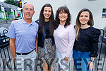 Paudi, Clodagh, Marcella and Ciara Moriarty from Tralee enjoying the evening in Bella Bia on Friday.