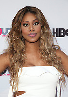 """LOS ANGELES, CA-  Lavern Cox, At 2017 Outfest Los Angeles LGBT Film Festival - Closing Night Gala Screening Of """"Freak Show"""" at The Theatre at Ace Hotel, California on July 16, 2017. Credit: Faye Sadou/MediaPunch"""