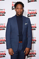 Adetomiwa Edun arriving for the Empire Awards 2018 at the Roundhouse, Camden, London, UK. <br /> 18 March  2018<br /> Picture: Steve Vas/Featureflash/SilverHub 0208 004 5359 sales@silverhubmedia.com